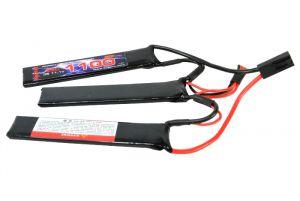 Kypom Batterie LiPo 11,1V 1100mAh 25C (Tamiya Mini)