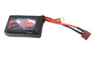 Kypom Batterie LiPo 11,1V 1300mAh 25C (Deans Large) pour PEQ15