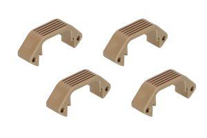 Amoeba Demi-Section Plate pour Garde-Main Modulaire (DE)