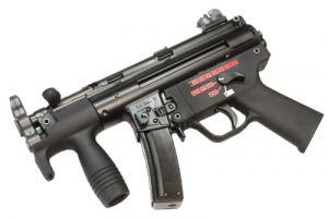 WE SMG5K Apache GBBR (Noir)