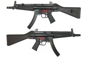 WE SMG5A4 Apache A2 GBBR (Noir)