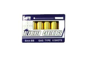 HFC Lot De 6 Cartouches Pour Revolver