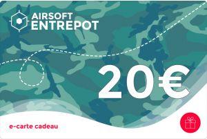 e-Carte Cadeau 20€