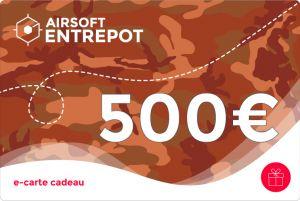e-Carte Cadeau 500€