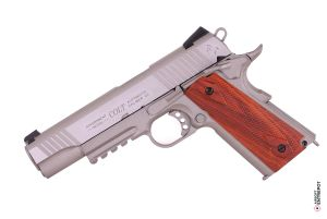 Colt 1911 Rail Gun GBB (CO2 / Inox)