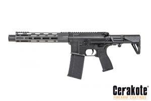 Evolution Airsoft M4 Lone Star EVO Ultra Lite Pistol PDW AEG (Noir)