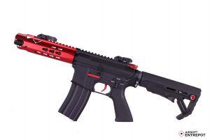 E&C M4 Lepoard AEG Courte (Rouge)