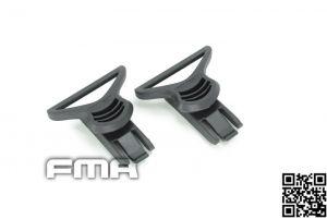 FMA Passants 36mm pour Casque Fast (BK)