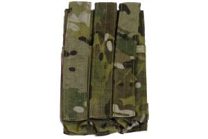 Flyye Triple SMG5 Mag Pouch (Multicam)
