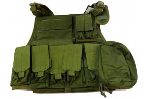 Flyye Plate Carrier avec poches (M / OD)