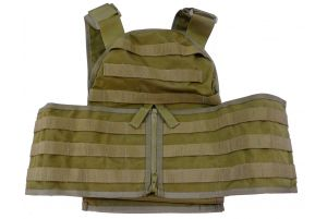 Flyye HPC Armor Vest (L / Coyote Brown)