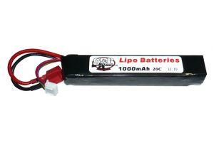 G&P Batterie LiPo 11,1V 1000mAh 30C (Deans Large)