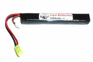 G&P Batterie LiPo 11,1V 1200mAh 30C (Tamiya Mini)