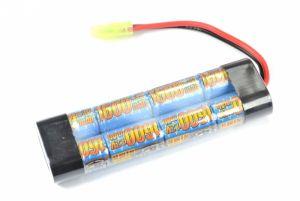 G&P Batterie NiMh 9,6V 1600mAh  (Tamiya Mini) Type Mini