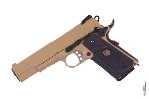 WE 1911 MEU Rail GBB (Tan)