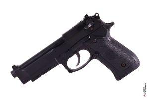 HFC M92A1 avec Mallette GBB (Noir)