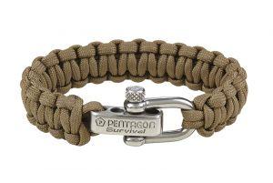 Pentagon Bracelet Paracorde (Coyote)