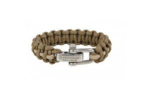 Pentagon Bracelet Paracorde (Coyote / Khaki)