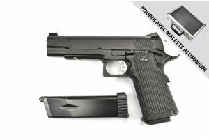 KJW Hi-Capa 5.1 Avec Mallette GBB (KP0506 / Dual / Noir)