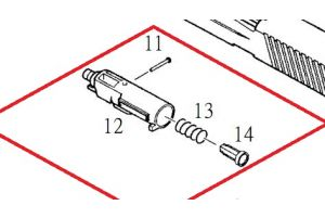 KJW Nozzle Complet pour KP01