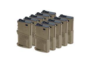 Amoeba Boite De 10 Chargeurs M4 AEG Mid-Cap 120BBs Courts (DE)