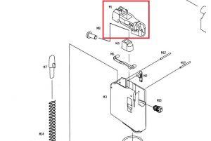 KJW Bec de Chargeur pour M4 GBBR
