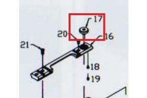 KJW Roue de Réglage Hop-Up pour M700