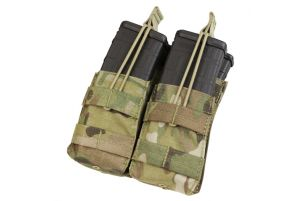Condor Porte Chargeur M4 Stacker Open Top Double - Multicam
