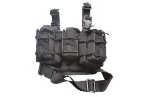 Pro-Arms Porte Chargeurs Modulaire de Cuisse (BK)