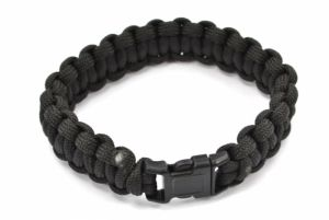 Pentagon Bracelet Tactique en Paracorde 330 Black