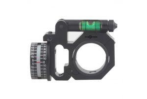 Vector Optics Anneau 30/25.4mm avec Niveau à Bulle et Inclinomètre