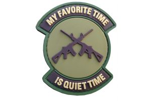 Patch Quiet Time Tan