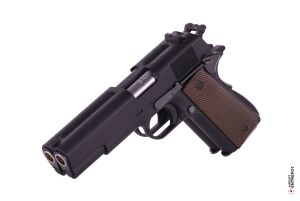 WE 1911 Double Canon GBB (Noir)