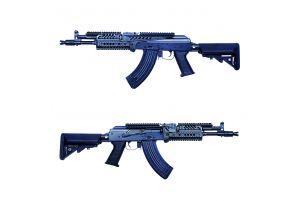 E&L AK104 PMC-D Platinum AEG (Gen2 / Noir)