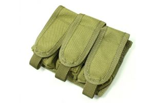 TMC Triple Poche Grenade 40mm (Khaki)