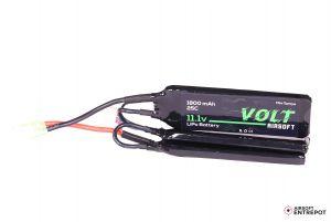 Volt Airsoft Batterie LiPo 11.1v 1800mAh 25C Butterfly (Tamiya Mini)