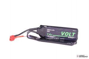 Volt Airsoft Batterie LiPo 7.4v 1800mAh 25C Butterfly (Deans Large)