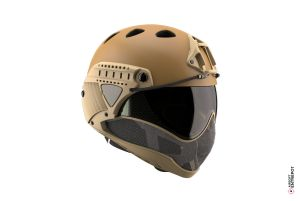 Warq Casque Complet Tan