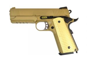 WE 1911 Desert Warrior 4.3 GBB (Tan)