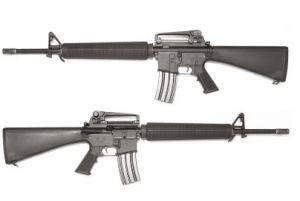 WE M16A3 Katana AEG (Cylindre Rouge / Noir)
