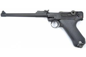 """WE P08 Luger 8"""" GBB (Noir)"""