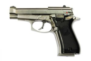 WE M84 Mini 92 GBB (Silver)