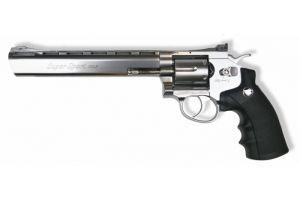 WinGun 6mm 8' Revolver (Co2) Silver/BK