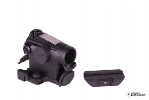 XTSP Red Dot Sight with Low Mount and QD Mount (Black)