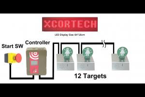 XCortech XTS-105 Système de Cibles Dynamiques (12 cibles)