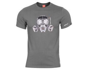 Pentagon Tshirt Masque à Gaz Gris