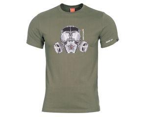 Pentagon Tshirt Masque à Gaz OD