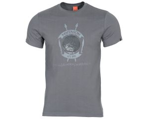 Pentagon Tshirt Lakedaimon Warrior Gris