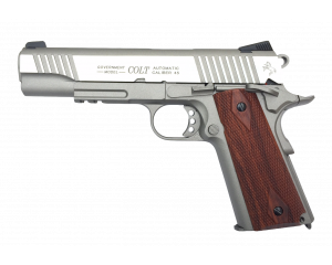 Colt 1911 Rail Gun Inox CO2