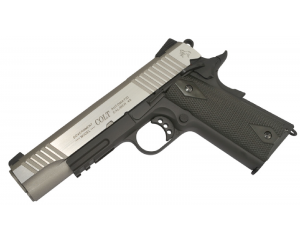Colt 1911 Rail Gun Noir Bicolore CO2